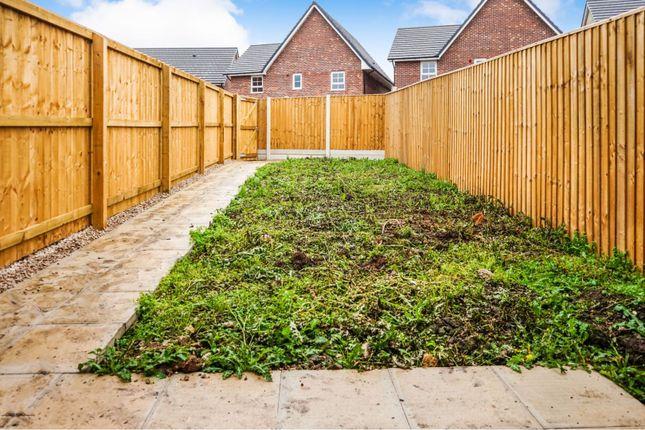 Rear Garden of 2 Crompton Place, Garstang, Preston PR3