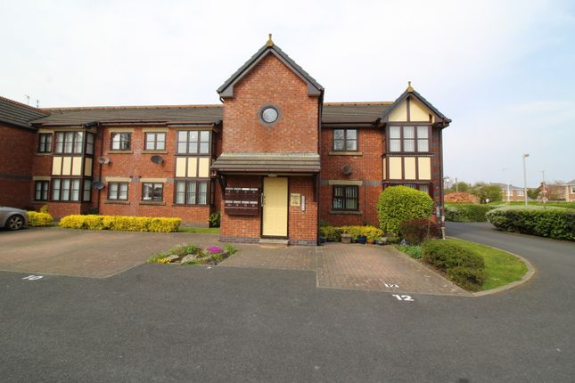 Thumbnail Flat for sale in Houghton Court, Lowesway, Thornton-Cleveleys