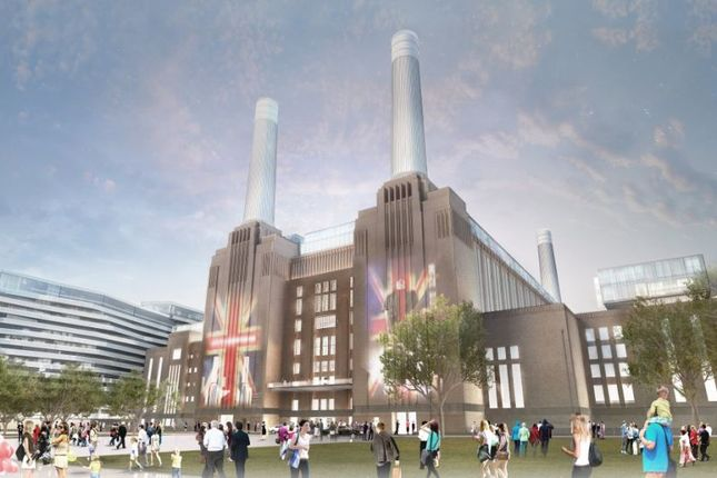 Thumbnail Flat for sale in Boiler House Square, Battersea Power Station SW8, London