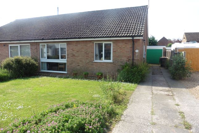Thumbnail Semi-detached bungalow for sale in North Park, Fakenham