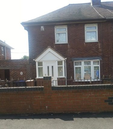 Thumbnail Semi-detached house to rent in Irene Avenue, Mill Hill, Stoke-On-Trent