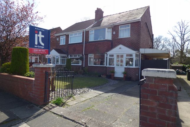 Thumbnail Semi-detached house for sale in Curzon Green, Offerton, Stockport