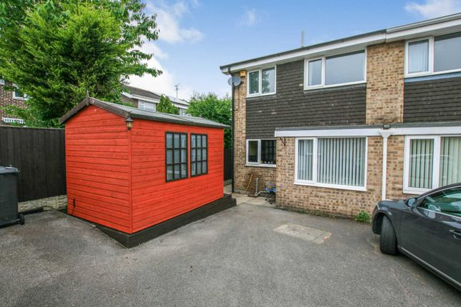 Thumbnail Semi-detached house for sale in Patterdale Close, Dronfield Woodhouse, Derbyshire