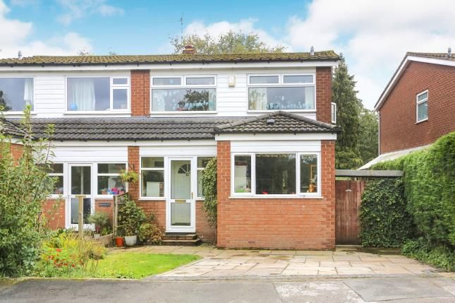 Thumbnail Semi-detached house for sale in Springfield Drive, Wilmslow, Cheshire, .