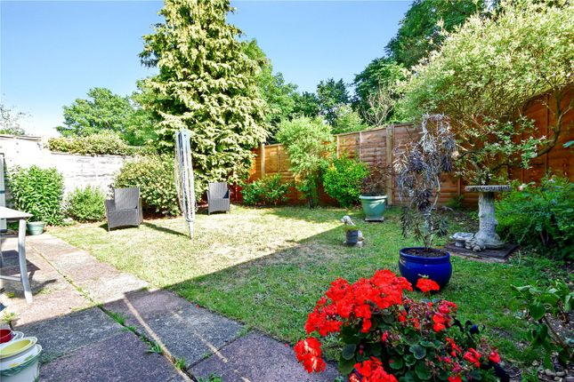 Rear Garden of Claremont Crescent, Crayford, Kent DA1