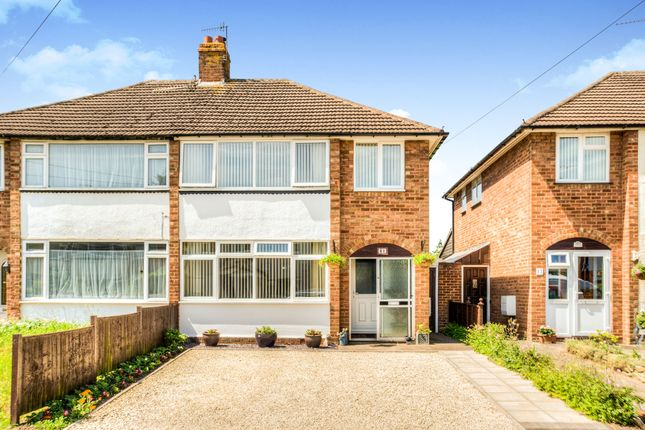 Thumbnail Semi-detached house for sale in Halford Road, Stratford-Upon-Avon