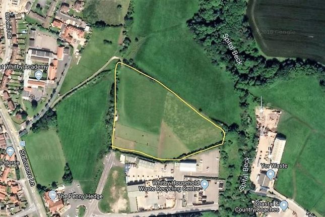 Thumbnail Land for sale in Chomley Way, Whitby