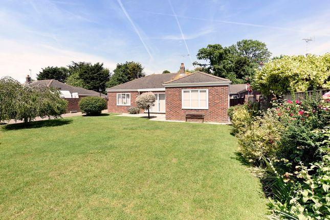 Thumbnail Detached bungalow for sale in Colts Bay, Aldwick, Bognor Regis