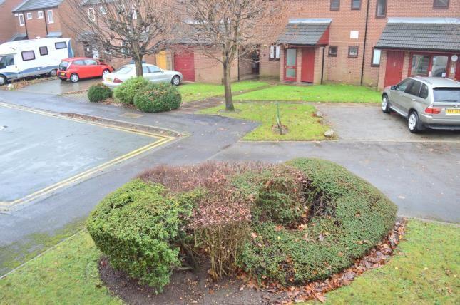 Rear Views of Mercian Court, Maxwell Close, Lichfield, Staffordshire WS13