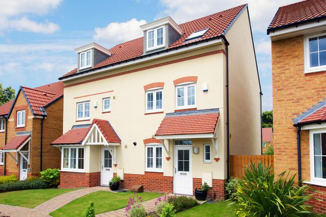"Thumbnail Semi-detached house for sale in ""Padstow"" at Ponds Court Business, Genesis Way, Consett"
