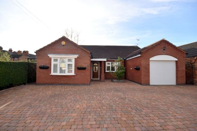 Thumbnail Detached bungalow for sale in White Street, Quorn, Loughborough