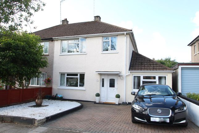 Thumbnail 4 bed semi-detached house for sale in Priorsford Avenue, Orpington