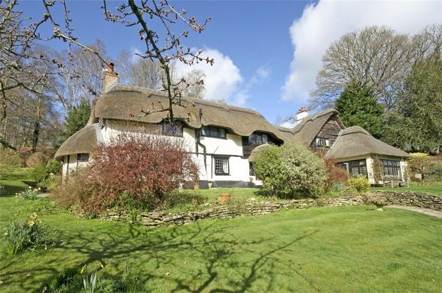 Thumbnail Cottage for sale in Highwood, Ringwood, Hampshire