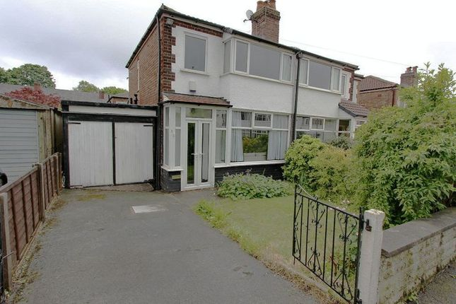 Thumbnail Semi-detached house to rent in Russell Street, Prestwich, Manchester