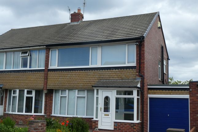 Thumbnail Semi-detached house for sale in Melrose Avenue, Cullercoats