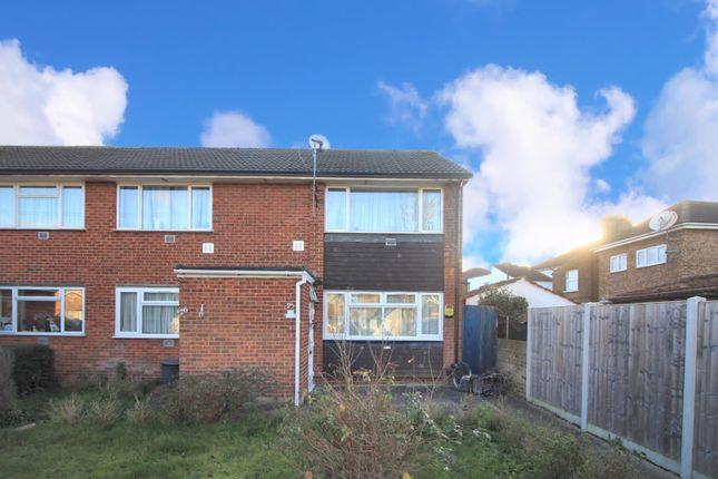 Thumbnail Maisonette to rent in Manse Close, Harlington, Hayes