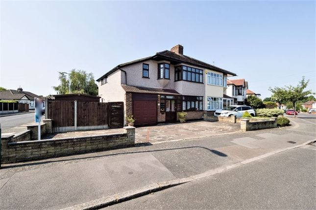 Thumbnail Semi-detached house for sale in Beverley Gardens, Hornchurch