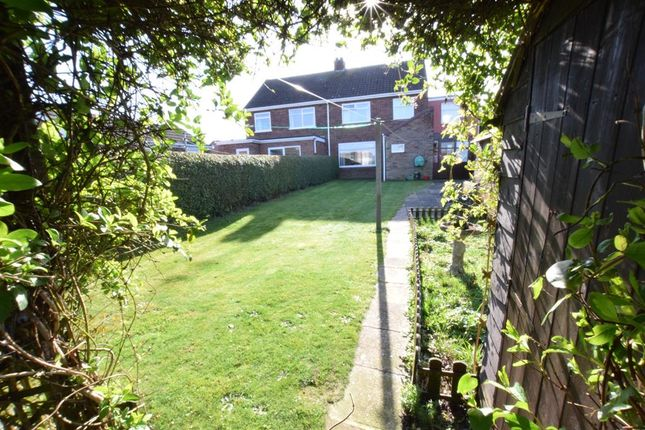 Thumbnail Semi-detached house for sale in Lovell Road, Bottesford, Scunthorpe