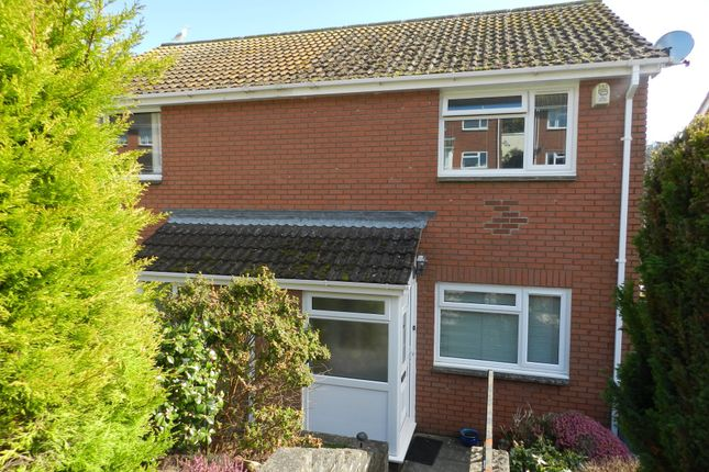 Thumbnail Semi-detached house for sale in Headway Rise, Teignmouth