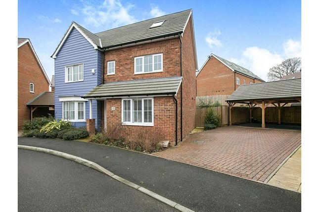 Thumbnail Detached house for sale in Chartwell Lane, Longfield
