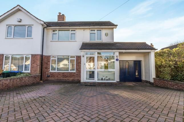 Thumbnail Semi-detached house for sale in Abbotsford Avenue, Great Barr, Birmingham, West Midlands