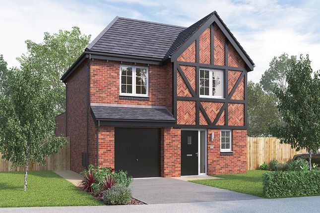 "Thumbnail Detached house for sale in ""The Newton"" at Russell Drive, Wollaton, Nottingham"