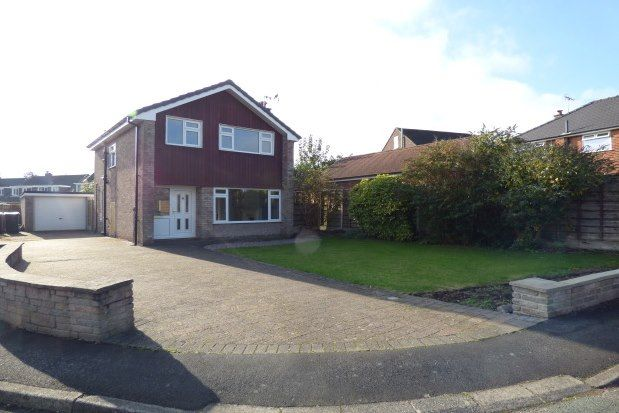 Thumbnail Detached house to rent in Orme Close, Macclesfield