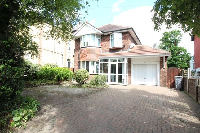 Thumbnail Detached house to rent in Derbyshire Lane, Stretford, Manchester