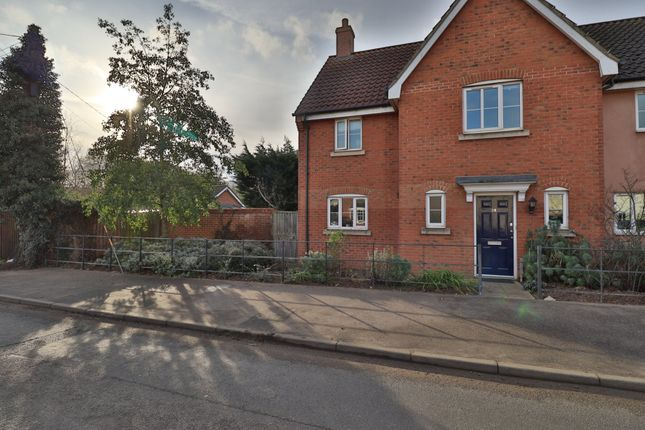 3 bed semi-detached house for sale in Stuston Road, Diss IP22