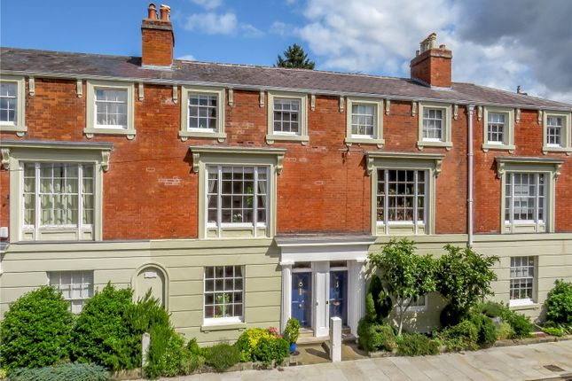 Thumbnail Terraced house for sale in Crescent Place, Town Walls, Shrewsbury