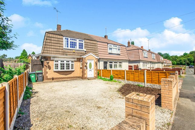 Thumbnail Semi-detached house for sale in Biddlestone Grove, Walsall