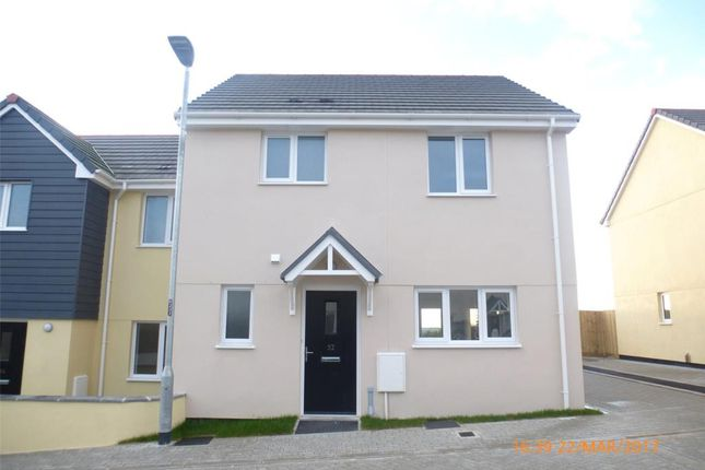Thumbnail Semi-detached house to rent in Harvenna Heights, Fraddon, St. Columb, Cornwall