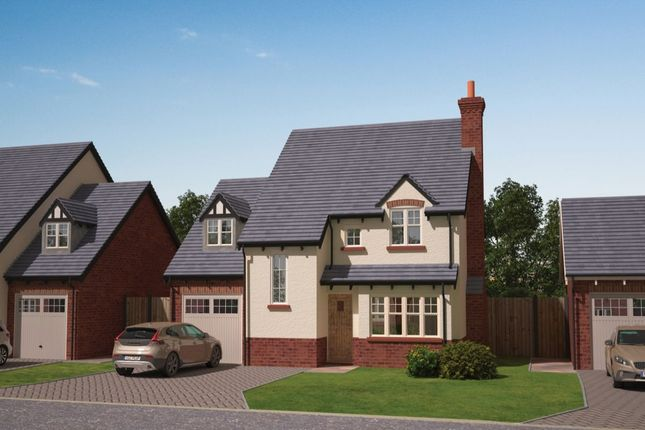 Thumbnail Detached house for sale in - The Hawkstone The Pastures, Tilstock, Whitchurch