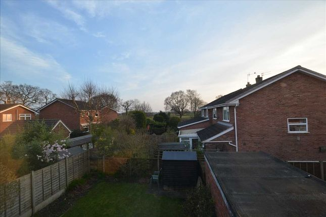 View From Rear of Allgreave Close, Middlewich CW10