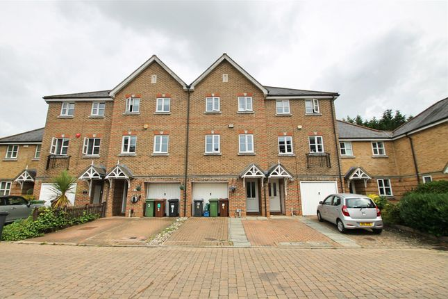 Thumbnail Town house for sale in Montague Hall Place, Bushey