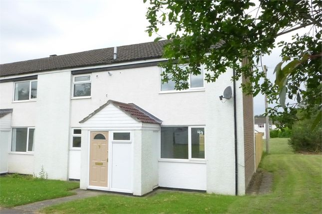 Thumbnail End terrace house to rent in Essex Close, Catterick Garrison, North Yorkshire.