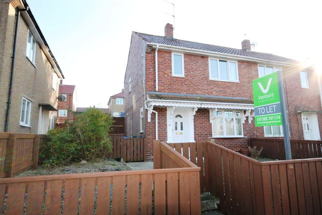 Thumbnail Semi-detached house to rent in Ennerdale Drive, Crook