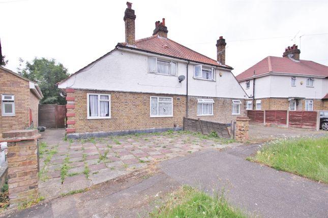 Thumbnail Semi-detached house to rent in Orchard Waye, Uxbridge, Greater London