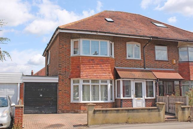Thumbnail Semi-detached house for sale in Wilton Road, Shirley, Southampton
