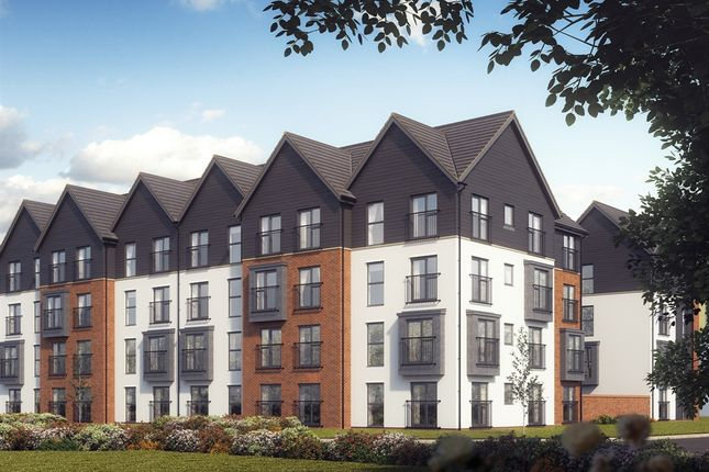 "Thumbnail Flat for sale in ""The Rhoose"" at Powell Duffryn Way, Barry"