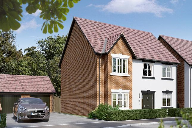 "Thumbnail Detached house for sale in ""The Durham "" at Dark Lane, Whatton, Nottingham"