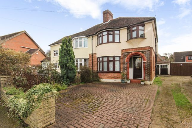 Thumbnail Semi-detached house for sale in Riverway, Ewell