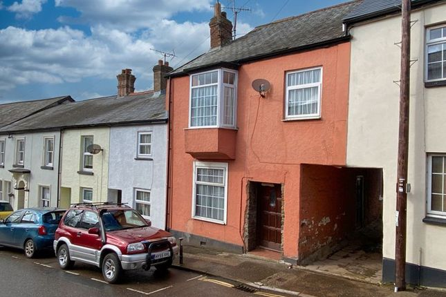 Thumbnail Terraced house for sale in Fore Street, North Tawton