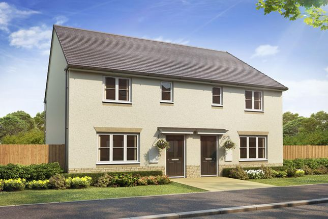 "Thumbnail Terraced house for sale in ""Calder"" at Glassford Road, Strathaven"