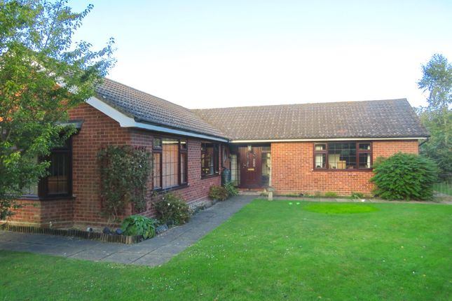 Thumbnail Detached bungalow for sale in Mill Road, Mattishall, Dereham