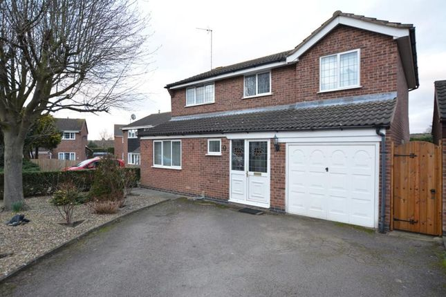 Thumbnail Terraced house for sale in Ludlow Close, Leicester, Leicestershire