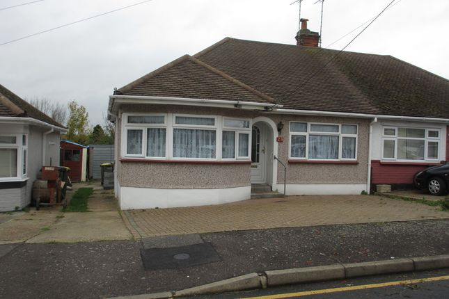 Thumbnail Semi-detached bungalow to rent in Broad Walk, Hockley