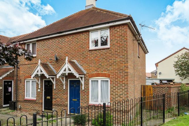 Thumbnail End terrace house for sale in Hallcroft Chase, Highwoods, Colchester