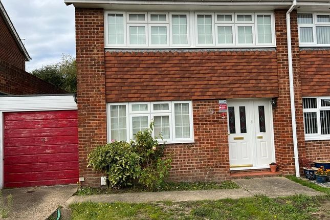 Thumbnail Semi-detached house to rent in Charnock, Swanley