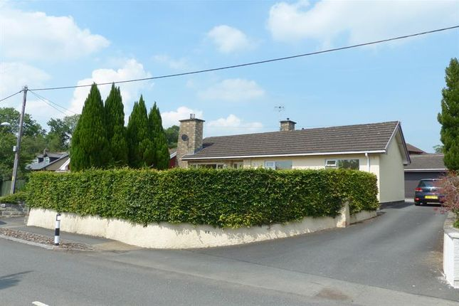 Thumbnail Detached bungalow to rent in Irfon Bridge Road, Builth Wells
